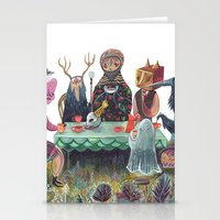 The Art Of Ruining Conve… Stationery Cards