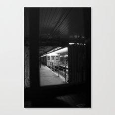 1st Stop Canvas Print