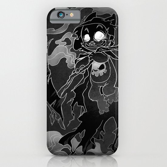 Deathly Bear iPhone & iPod Case