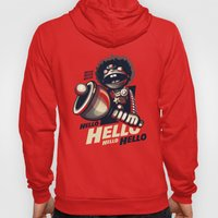 HELLO! HELLO! (red) Hoody