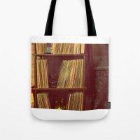 Vinyl Corner Tote Bag