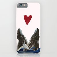 iPhone & iPod Case featuring Whales in Love by Caitlin Fargher