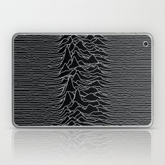 Unknown Radio Waves - Unknown Pleasures Laptop & iPad Skin