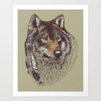 Wolfen Art Print