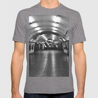 Underground: Waterloo (2) Mens Fitted Tee Tri-Grey SMALL