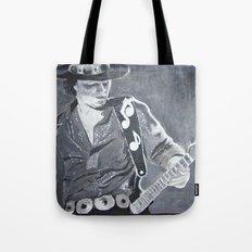 Stevie Ray Vaughan - Guitar Tote Bag