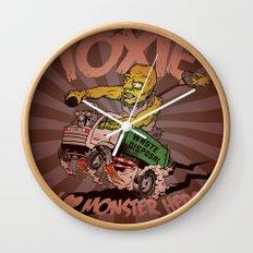 I (HEART) MONSTER HERO Wall Clock
