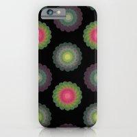 Transparent Floral Patte… iPhone 6 Slim Case