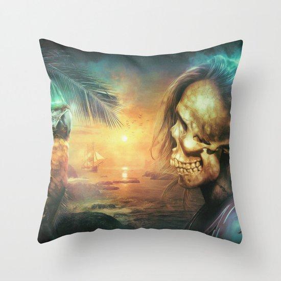 Antonio Bay Throw Pillow
