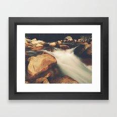 Tenaya Creek Framed Art Print