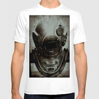 Captain Nemo Mens Fitted Tee White SMALL