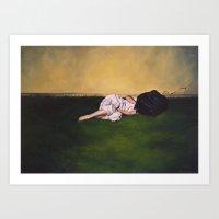 Never Let Me Go #2 Art Print