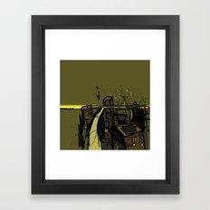 Flyover Framed Art Print