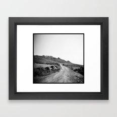 Par Delà les Montagnes . . . Framed Art Print