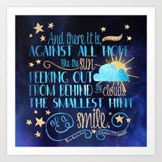 These Broken Stars - Smile Art Print