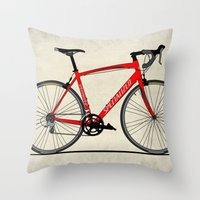 Specialized Racing Road … Throw Pillow