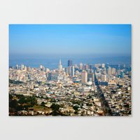 Twin Peaks, San Francisc… Canvas Print
