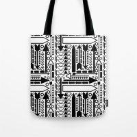Arrows Pattern Tote Bag