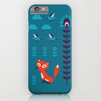 iPhone & iPod Case featuring fox by Hanna Ruusulampi