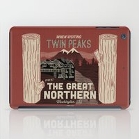 the Great Northern Hotel (Faux Canvas - rust) iPad Case