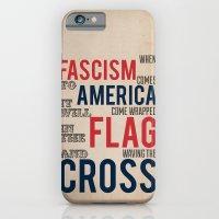 iPhone & iPod Case featuring Fascism by Blake Smisko