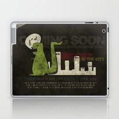 Dinosaur in the City Laptop & iPad Skin
