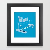 The life of An Old Vagrant Framed Art Print