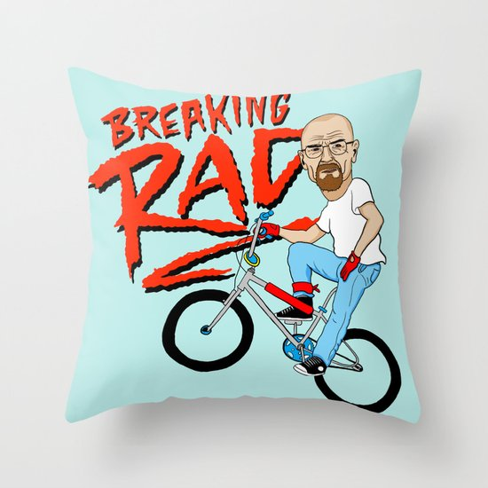 Breaking Rad Throw Pillow