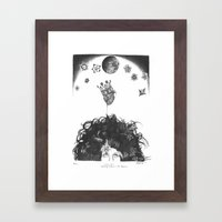 Cosmic Love Framed Art Print