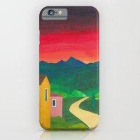 Mountain Sunset iPhone 6 Slim Case