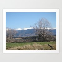 Pyrenees - Spain Art Print