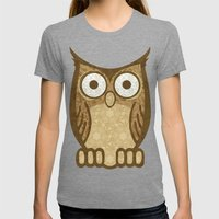Owl Always Love You Womens Fitted Tee Tri-Grey SMALL