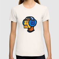 headfone Womens Fitted Tee Natural SMALL
