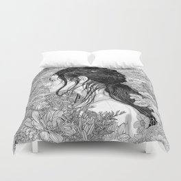 Duvet Cover - Love is in Beauty and Chaos - PedroTapa