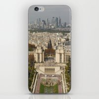 Aerial Paris iPhone & iPod Skin