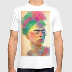 frida kahlo Mens Fitted Tee SMALL White