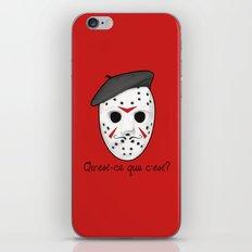 Psycho Killer iPhone & iPod Skin