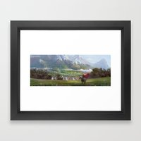 EPic vista  Framed Art Print