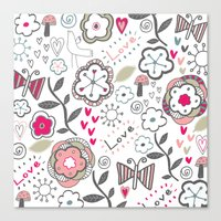 Fun Doodles  Canvas Print
