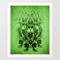 The Rabbit Art Print