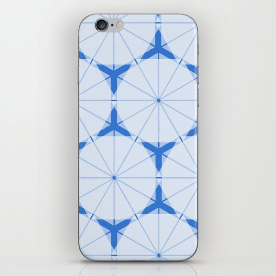 Snowflake Pattern iPhone & iPod Skin