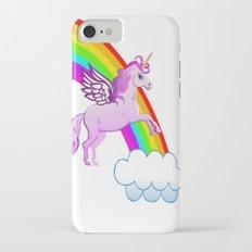 Unicorn and Rainbow Slim Case iPhone 7