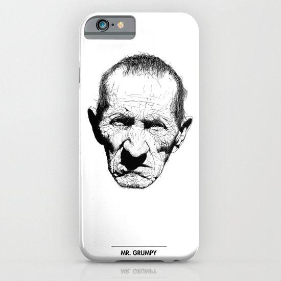 Mr. Grumpy iPhone & iPod Case