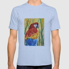 PARROT Mens Fitted Tee Athletic Blue SMALL