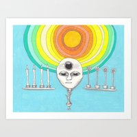 canyourthird eye seeme Art Print