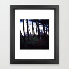 The Grandfather's Wood Framed Art Print
