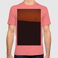 Twilight Mens Fitted Tee Pomegranate SMALL