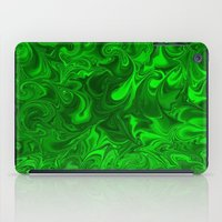 Acid Swirls  iPad Case