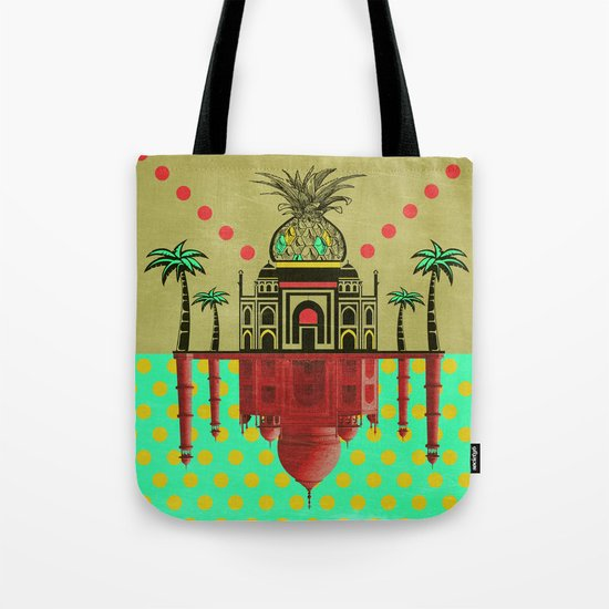 pineapple architecture 2 Tote Bag