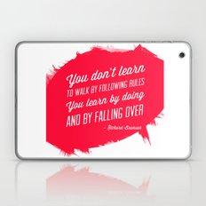 Richard Branson success quote Laptop & iPad Skin